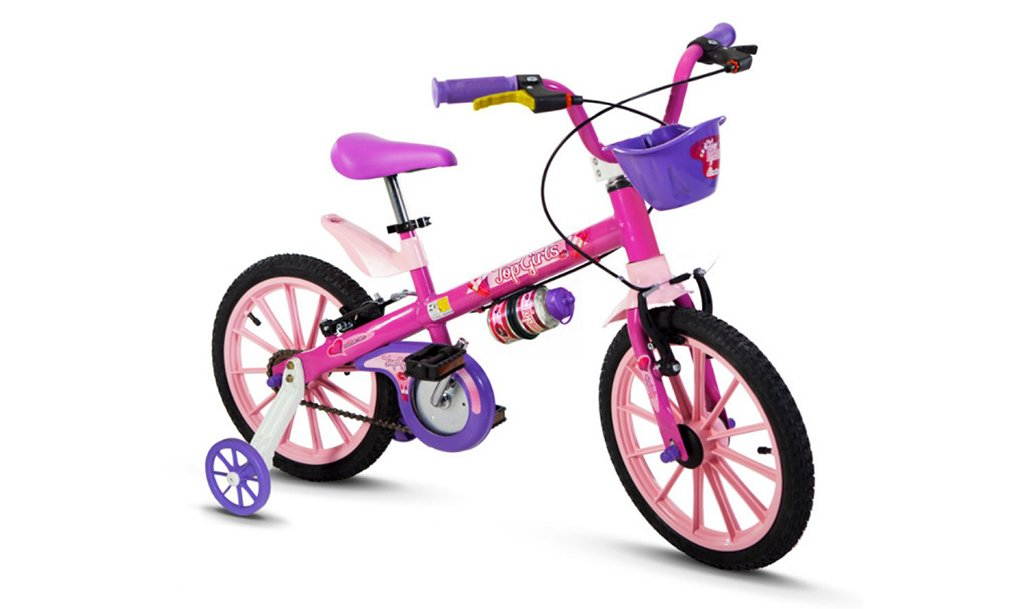 Bicicleta Nathor Top Girls Aro 16
