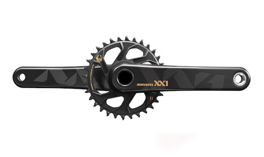 Pedivela Sram XX1 Eagle Gold Boost GXP 32T 175mm