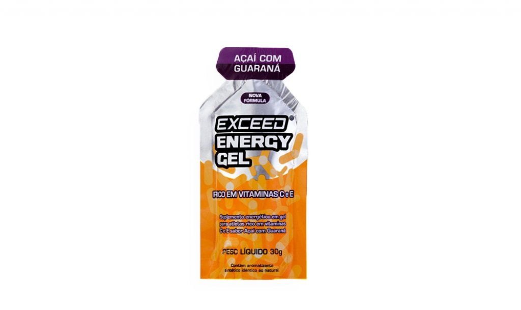 Gel Exceed Energy Açai com Guaraná