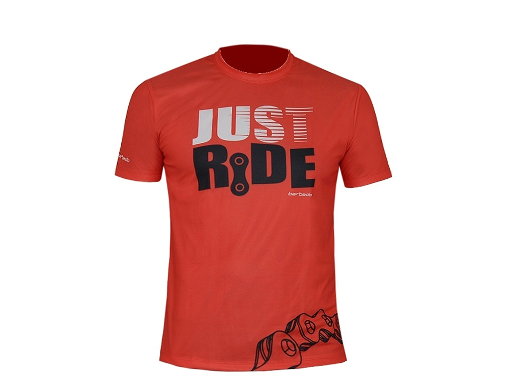 Camiseta Barbedo Just Ride