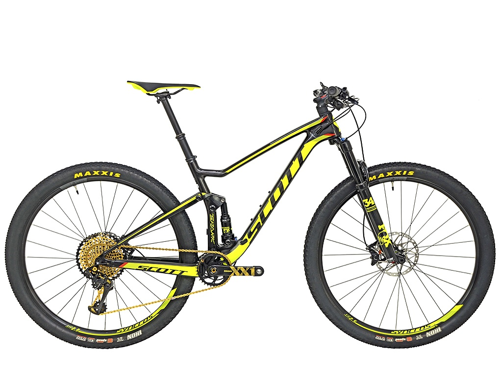 Bicicleta Scott Spark 920 Carbon Eagle 12 vel Gold