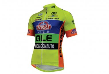 Camisa ALE Neri Sottoli Yellow Fluo