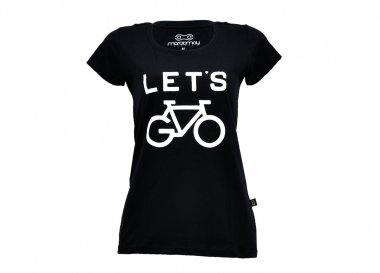 Camiseta Marcio May Lets Bike Feminina