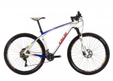 Bicicleta Caloi Elite Carbon Team XTR