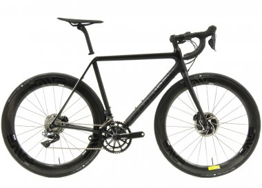 Bicicleta Cannondale Supersix Evo Hi-Mod Disc Black Inc 2018