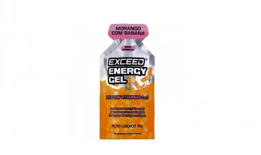 Gel Exceed Energy Morango com Banana