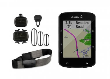Ciclocomputador com GPS Garmin Edge 520 Plus Bundle