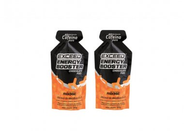 Gel Exceed Energy Booster Chocolate Cafeína 2 Unidades