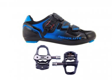 Sapatilha Absolute Wild Road + Pedal Absolute Carbon