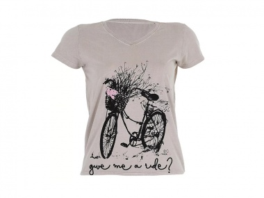 Camiseta Marcio May Give Me Ride Feminina 2020