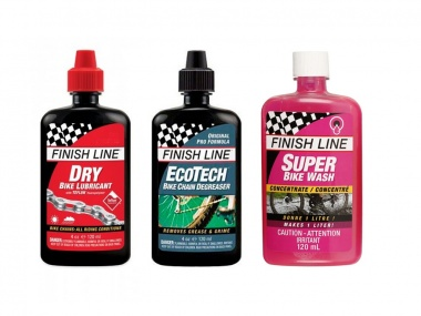Kit de Lubrificante Finish Line Premium Care Seco