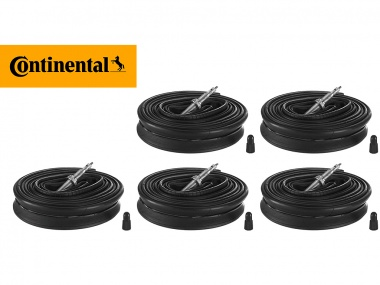 Kit Câmaras Continental Race 700x25c 60mm 5 unidades