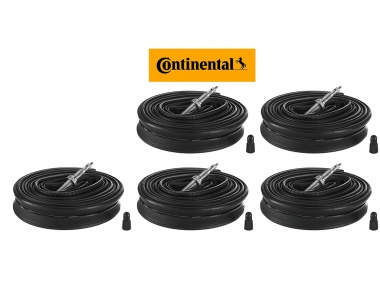 Kit Câmaras Continental Race 700x25c 42mm 5 unidades