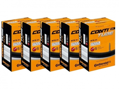 Kit Câmaras Continental MTB 29x2.25 42mm 5 unidades