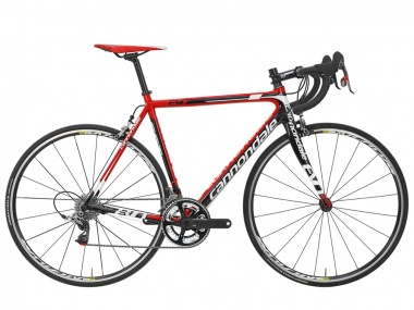 Bicicleta Cannondale Supersix Evo Carbon Red