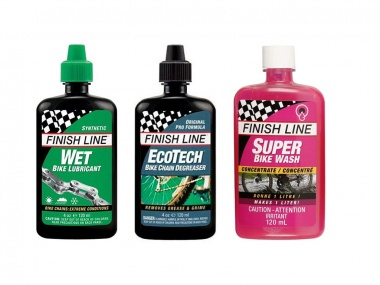 Kit de Lubrificante Finish Line Premium Care Úmido