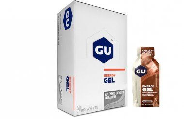 Gel Gu Energy Chocolate Belga - 24 unidades