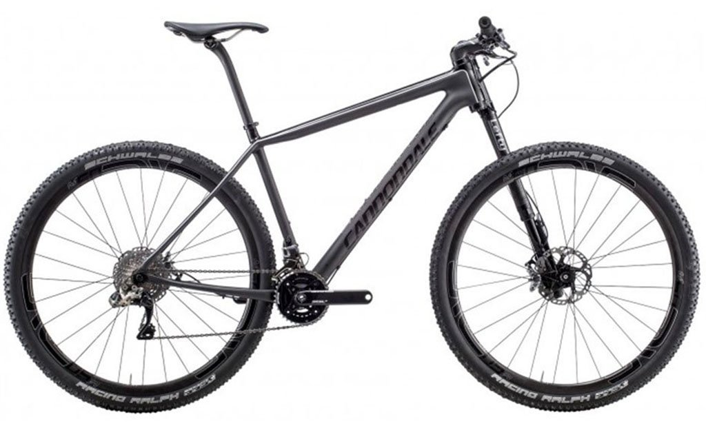 Bicicleta Cannondale F-Si 29 Carbon Black Inc Di2