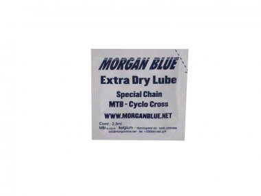 Lubrificante Morgan Blue Extra Dry 2.5 ml