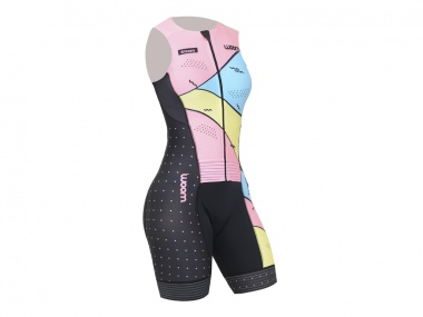 Macaquinho Woom Triathlon Dreams Regata Feminino